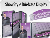 ShowStyle Briefcase Display